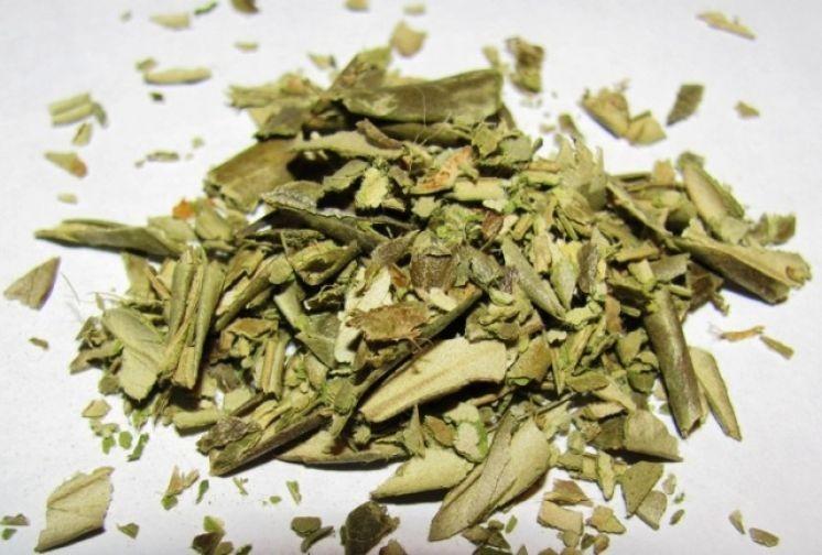 """Тизан из оливковых листьев от """"oleaff com""""."""