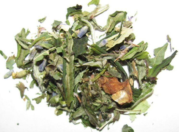 """Травяной купаж на чайной основе """"Эльфийский весенний чай"""""""
