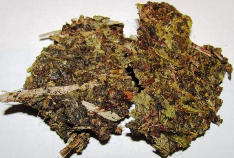 Китайский кирпичный чай для Монголии.