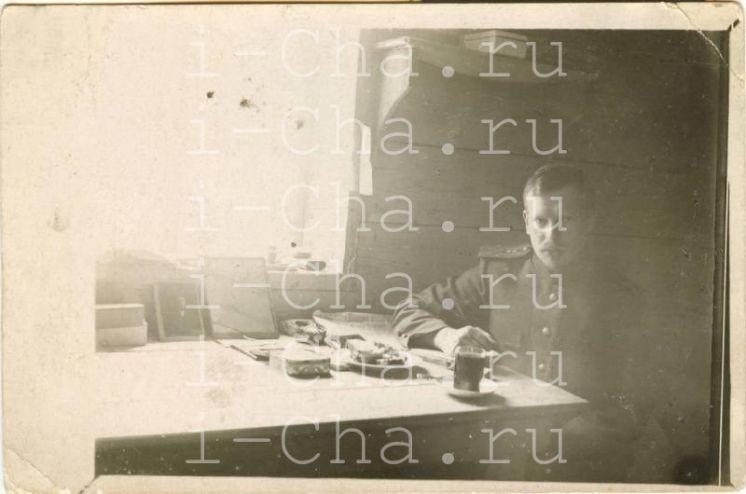 Российский чай и чайная торговля в Первую мировую войну