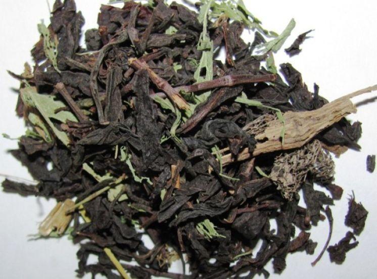 Абхазский красный чай со стевией.
