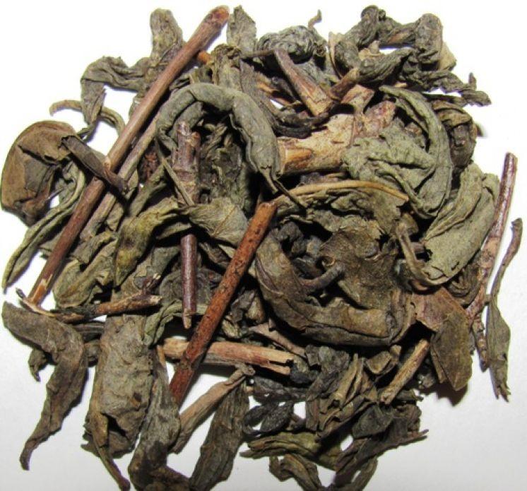 "Абхазский зелёный чай с жасмином ""Апсны абхазский""."
