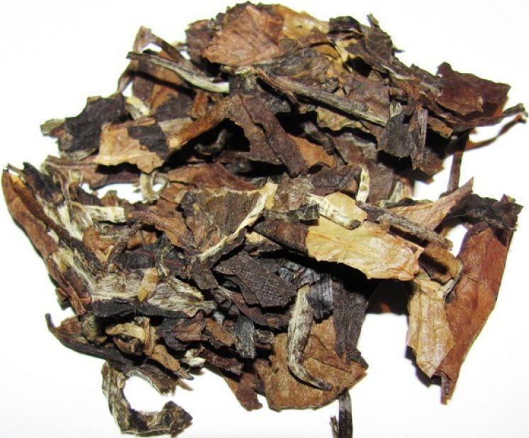 Белый выдержанный (4-5 лет) в блине чай Fuding White tea