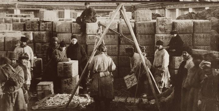 Некоторые особенности русской чайной торговли