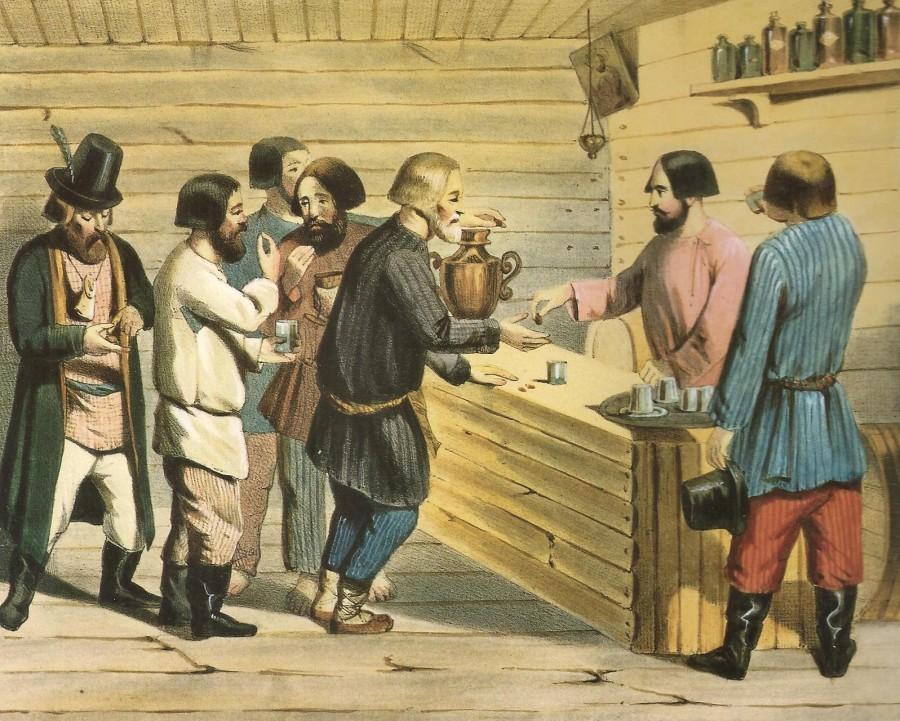 Заменители чая у различных народов Российской империи.