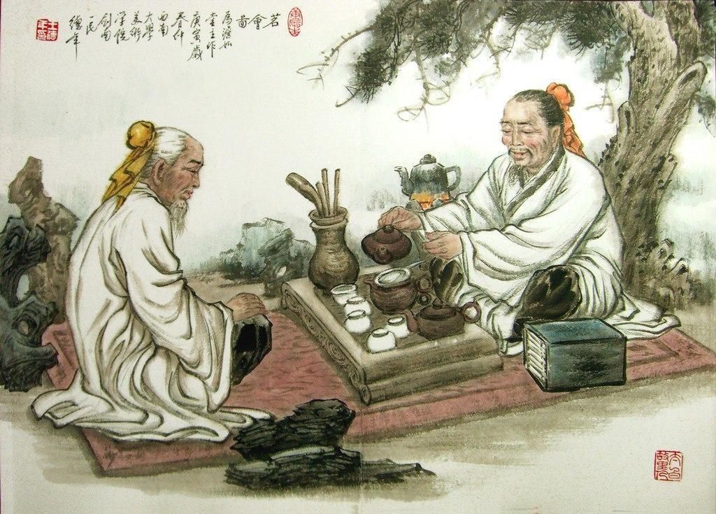 Легенды и мифы о чае.
