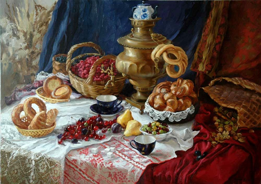 1839 г. Чай захватывает Россию.