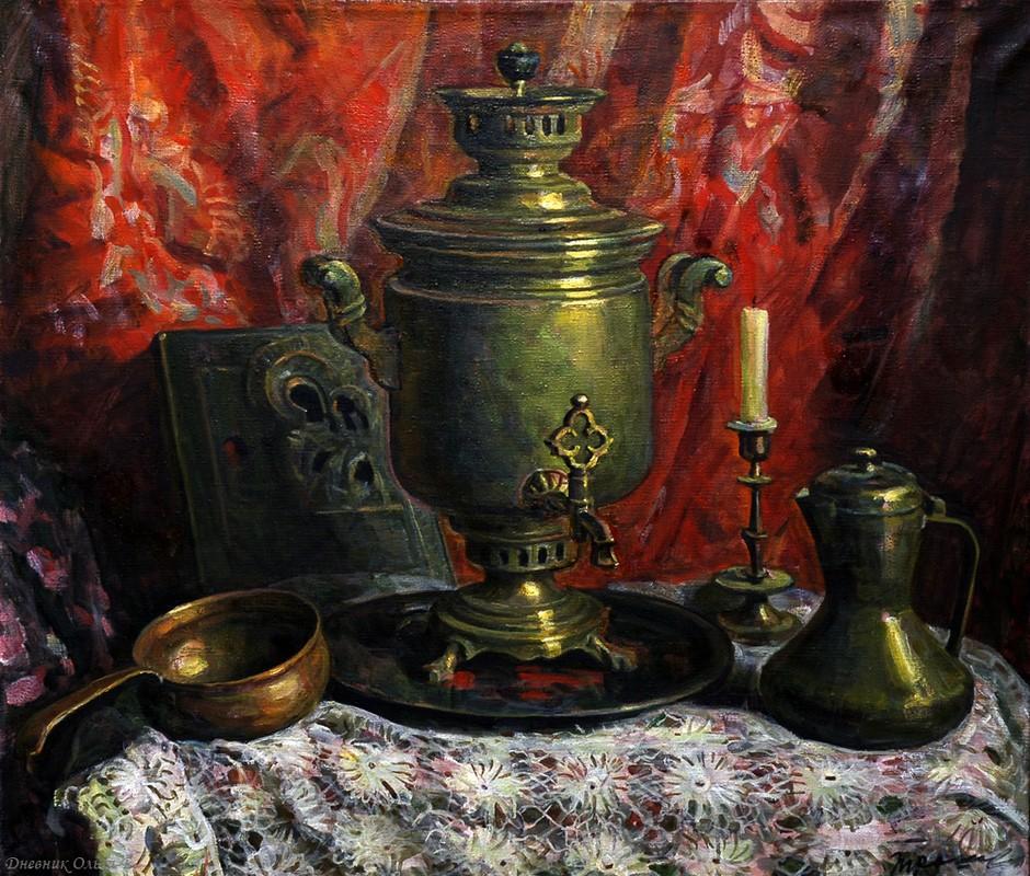 Появление самовара в чайной культуре. История происхождения.