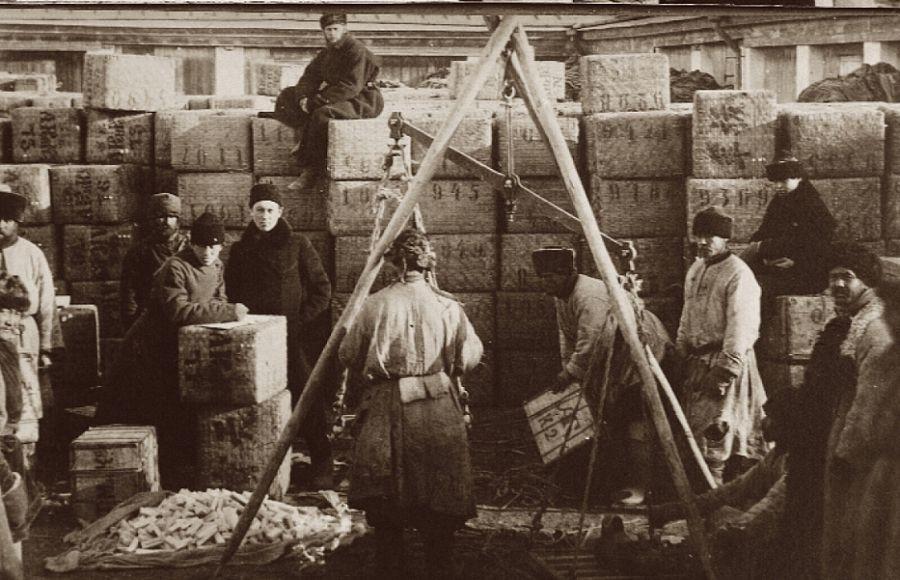 Кяхтинская торговля в XIX в.