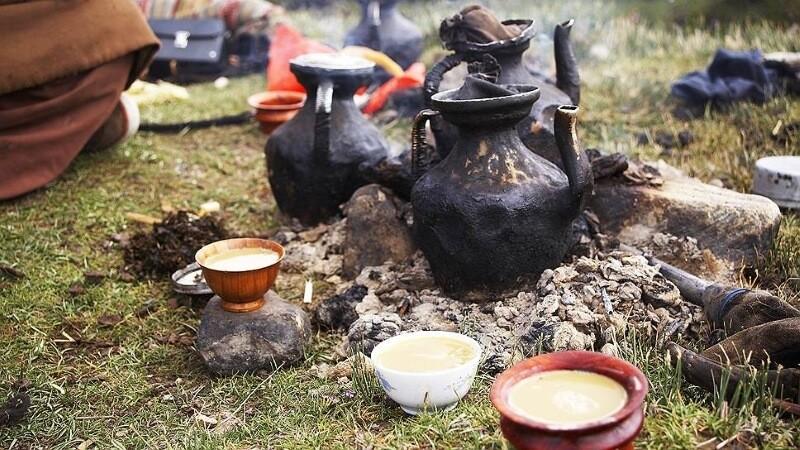 Чай и русская торговля чаем в Монголии.