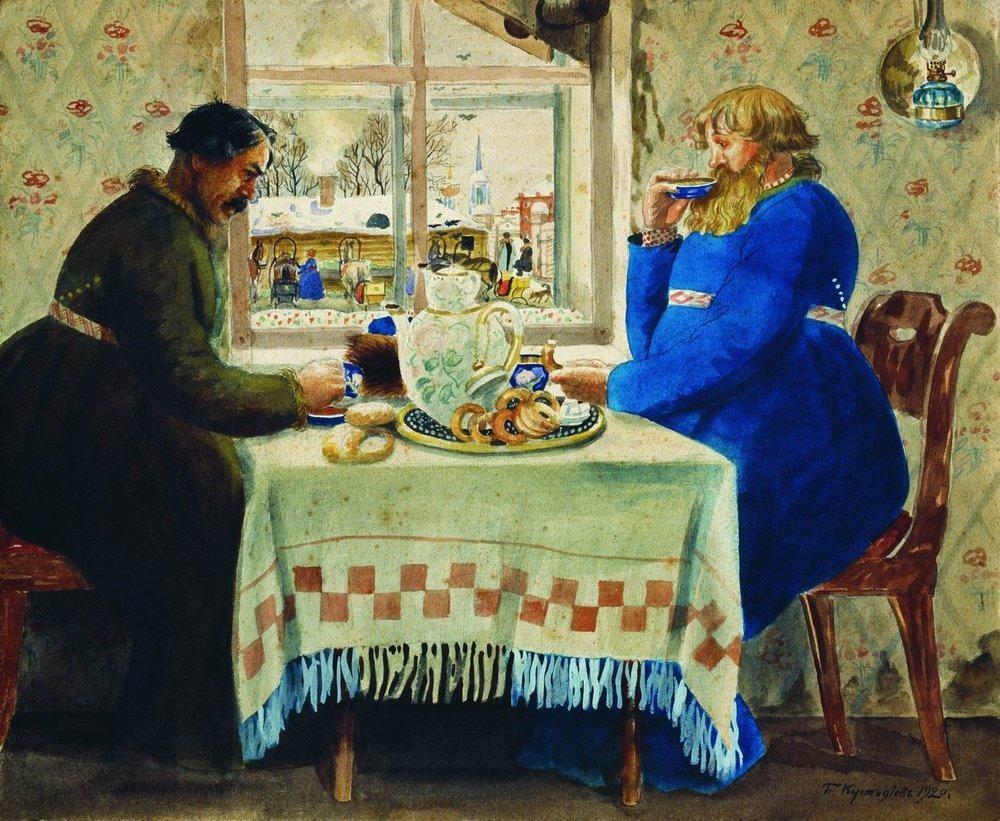 Потребление чая в различных возрастных группах и социальных слоях населения Российской империи XIX – начала ХХ вв. Часть I.