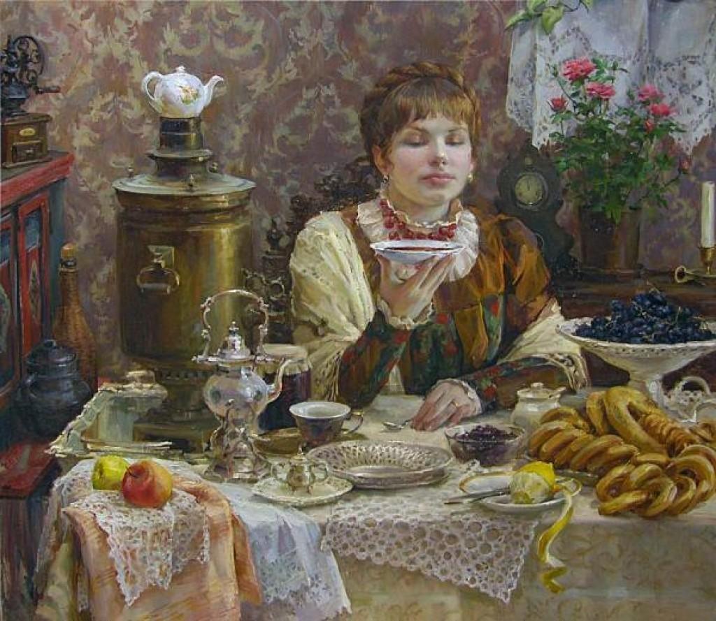 Чаепитие в россии