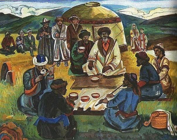 Чай в быту у татар разных регионов Российской империи.
