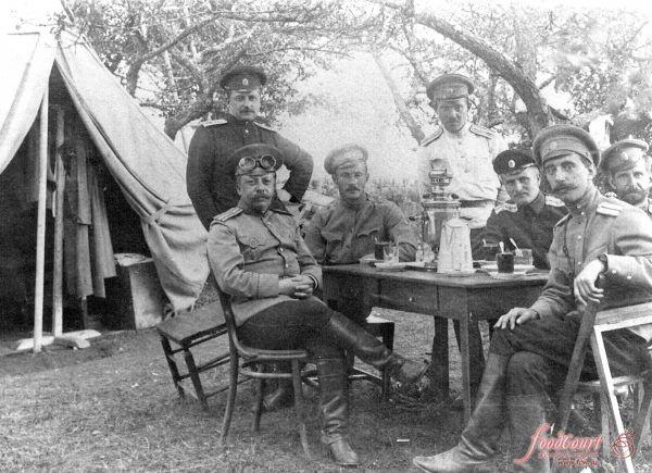 Чай в армии и кадетских корпусах (до 1917 г.).