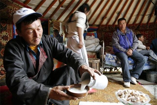 Чай у Сартов и других племен Центральной Азии.