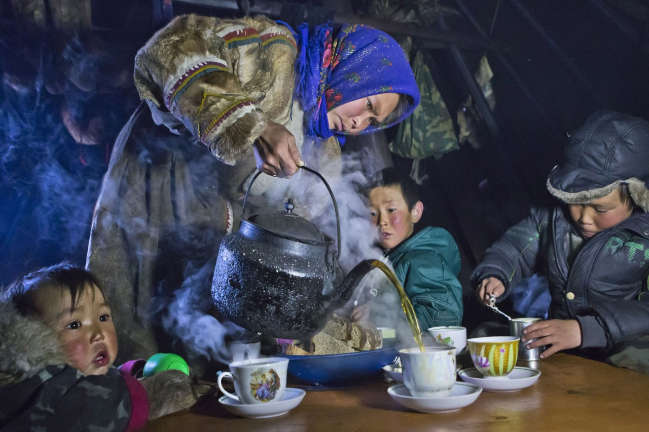 Чай у Тунгусов и Гиляков