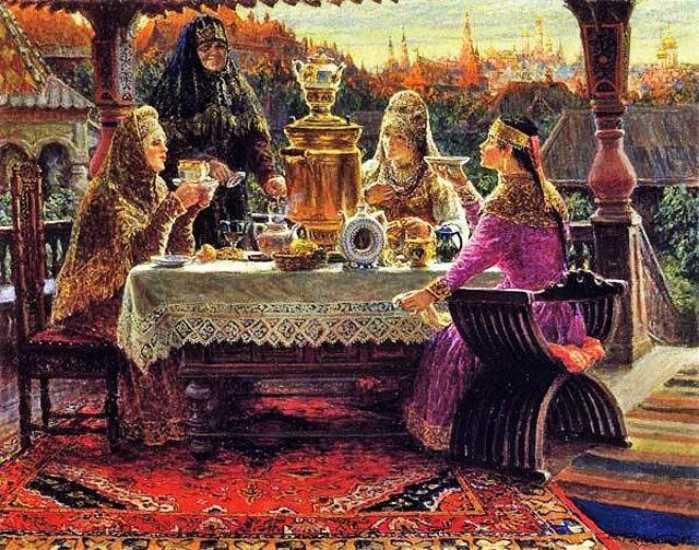 Чай в русском языке и фольклоре.