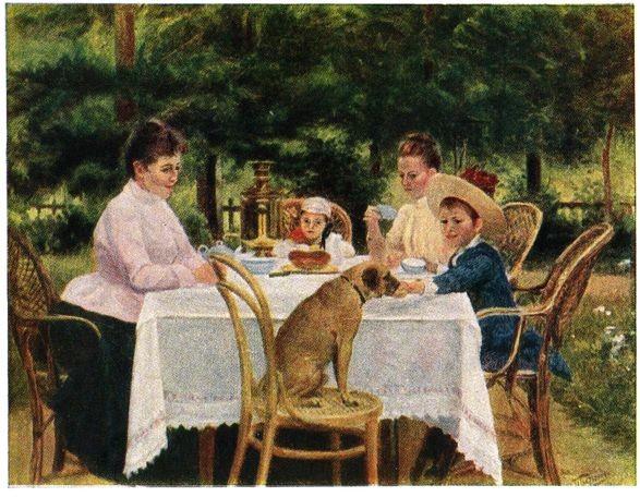 Живопись на тему чая