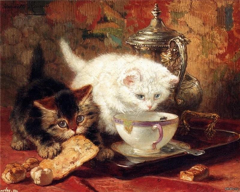 Живопись и чай в ХХв часть 2