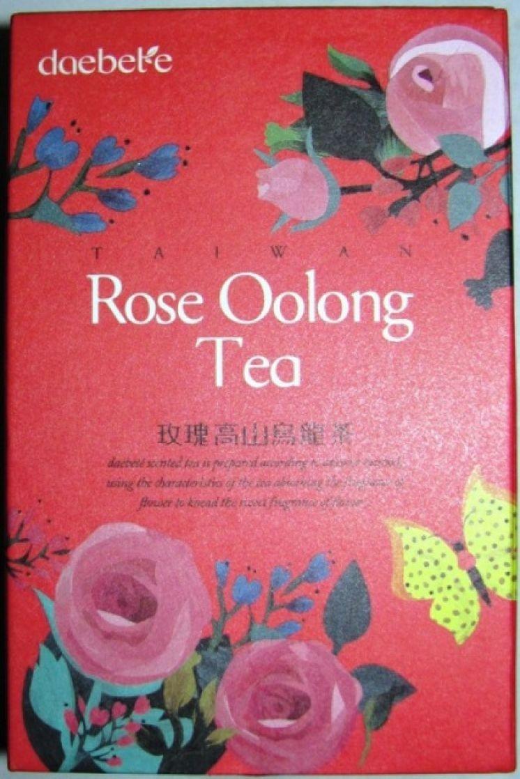 Тайваньский чай, ароматизированный розой.